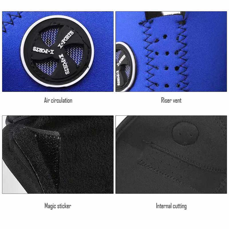 1 PC Unisex Hadiah Natal Perjalanan Tactica Masker Neoprene Pengendara Sepeda Motor Anti Debu Setengah Wajah Topeng Filter Hangat Musim Dingin masker Ski