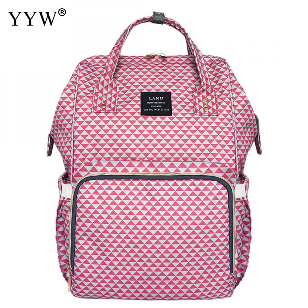 MoM Bag Striped Hot Pink Backpack Female Sky Blue Backpacks for Women Gray Polyester Travel School Bag blue sky чаша северный олень