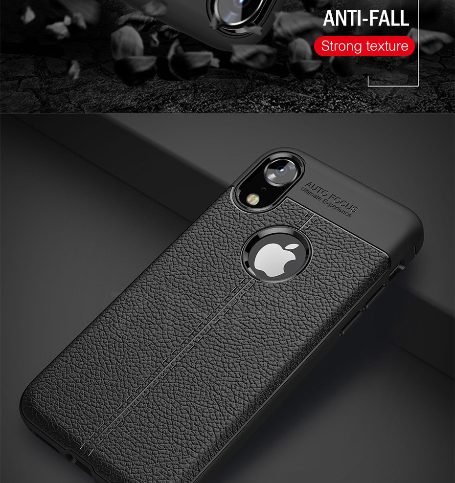 HTB1WC6CXdfvK1RjSszhq6AcGFXat - ZNP Luxury Shockproof Matte Cover For iPhone 6 7 8 Plus 6s Case Leather Carbon Fiber Leather For iPhone X XR XS Max Phone Case