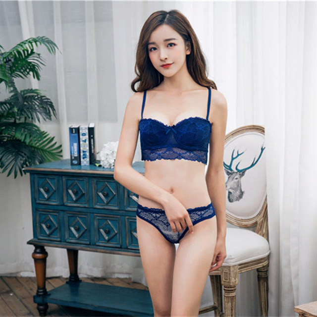 e08c7fa163 New European and American bra lace sexy back girls underwear gather a  variety of bra gather