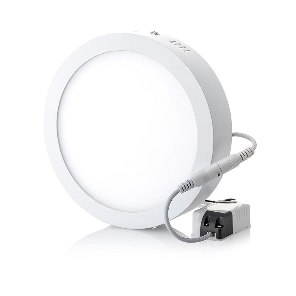 7000k Bright Light 18w Led Ceiling Light Round Flush Mount: Aliexpress.com : Buy 9W 15W 25W 30W Super Bright Round