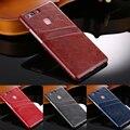 Роскошные Задняя Крышка для Huawei P9 чехол Слот для Карты Карман крышка для huawei p9 plus случае 5.5 дюймов телефон обложка + протектор экрана