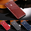 Luxury Back Cover for Huawei P9 case Card Slot Pocket Back Cover for huawei p9 plus case 5.5 inch phone cover+screen protector