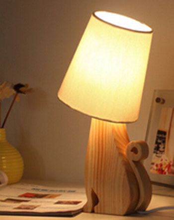 small table lamps for bedroom 2015 free shipping creative pet table lamp brief bedroom 19869