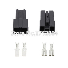 5 Set 2 Pin Female And Male Auto Toyota Map Sensor Connector Battery Speaker Wire Connector Plug DJ7026-7.8-11/21 цена и фото