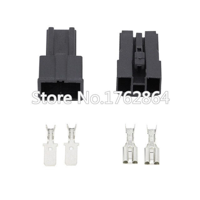 US $5 36 |2 Pin Female And Male Auto Toyota Map Sensor Connector Battery  Speaker Wire Connector Plug DJ7026 7 8 11/21-in Connectors from Lights &