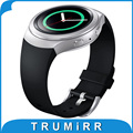 Silicone Rubber Watch Band Strap Smartwatch Link Bracelet 1:1 as Original for Samsung Galaxy Gear S2 (SM-R720) Black Blue Red
