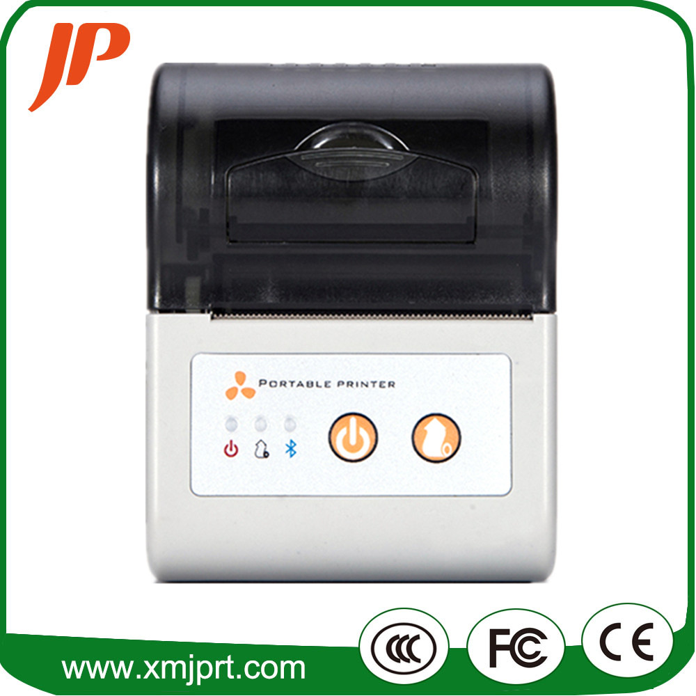 Free ship 58mm Thermal barcode printer Qr code label printer receipt printer bluetooth android printer supermarket direct thermal printing label code printer