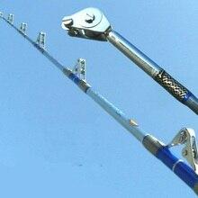 Albacore Тяжелая Акула Удочка океанская лодка рыболовная удочка для большой рыбы мощные инструменты изготовлены из специального прочного волокна светильник