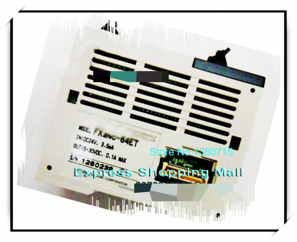 New Original FX2NC-64ET PLC FX2NC Series original module fx2nc cnv if plc fx2nc series