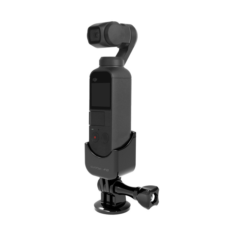 for DJI OSMO Pocket Camera Gimbal Mount Bracket with Extended Stick Holder for DJI OSMO Pocket Accessories for Gopro Camera in Gimbal Accessories from Consumer Electronics