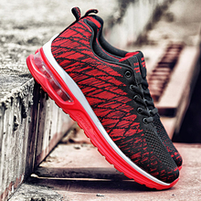 2019 Men Sneakers Running Shoes for Men Summer Mesh Breathable Sports Shoes Fashion Trainers Men's Shoes Plus Size недорого