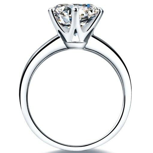 Top All'ingrosso Marchio di Gioielli 3CT Wedding Cuori e Frecce Simulate di Fidanzamento Diamond Ring Sterling Silver Jewelry PT950 Timbrato-in Anelli da Gioielli e accessori su  Gruppo 3