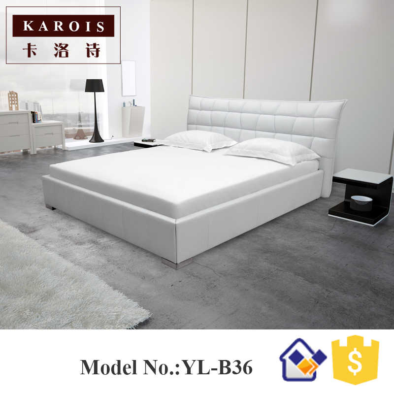 Modern Fashionable  Design Luxurious Pillow Double Air Bed,queen bed furniture