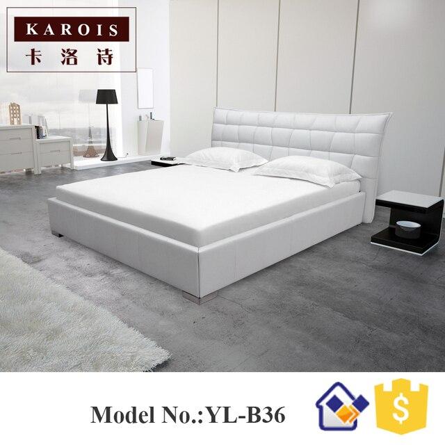 Moderno diseño de moda lujoso Almohadas cama de aire doble, Reina ...