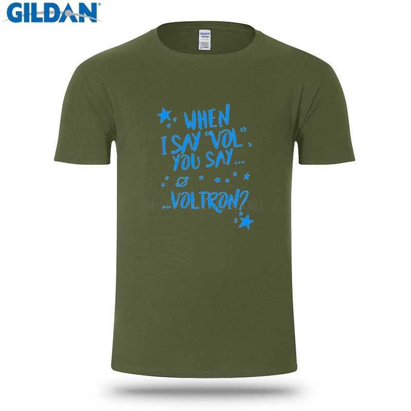 72595dfef ... Funny Tshirt Men T Shirt Voltron T Shirt Men Black Cool T-Shirt Big Size  ...