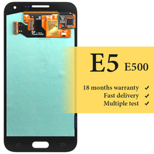 цена на For E5 lcd screen 5 inch working good For mobile phone E500 lcd display replacement assembly display lcd screen module
