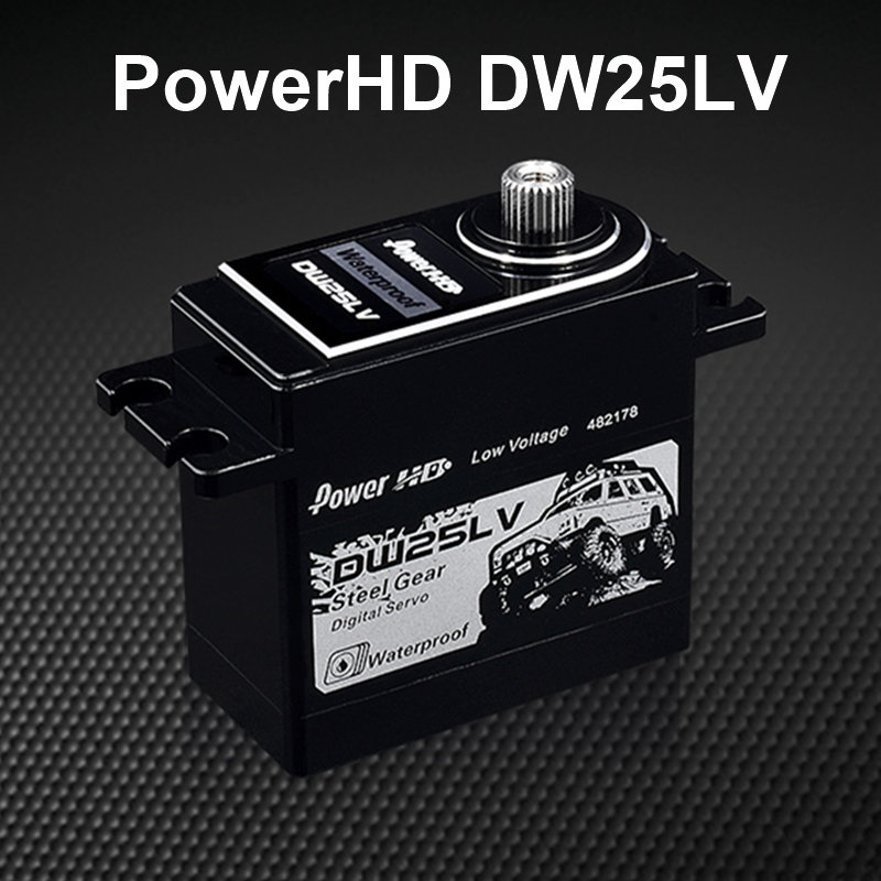Power HD DW-25LV High-Torque Digital Waterproof Servo 1/10 RC Crawler Max 6V дутики spur spur sp169awcng12