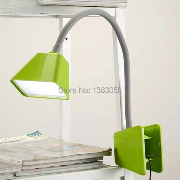 Flexible Big Clamp LED Desk Bed Lamp Table Clip Light Reading Lamp ...
