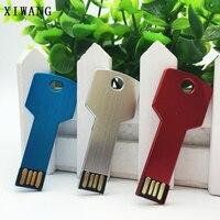 flash drive usb flash drive 16gb key shape pendrive 32gb waterproof usb stick 2.0 metal pen drive 64gb bracelet 4gb 8gb 128gb gift free logo (5)