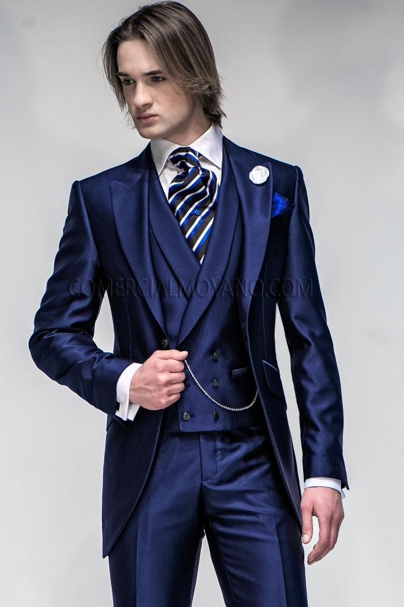 Новое Поступление Жених Смокинг - Мужская одежда - Фотография 1