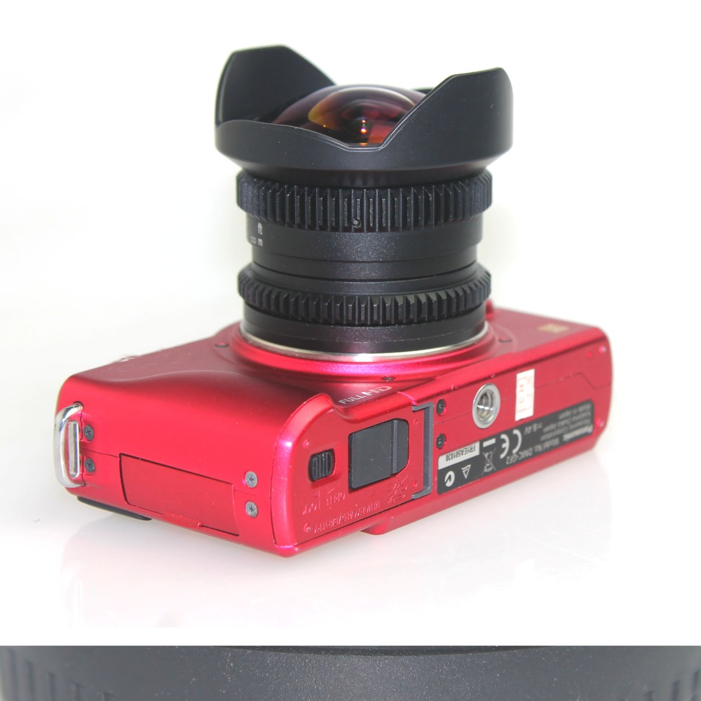 APS-C lentille oeil de poisson 8mm F2.8 pour Fujifilm FX monture caméra XT1 XT10 XE1 XE2 XM1 livraison gratuite