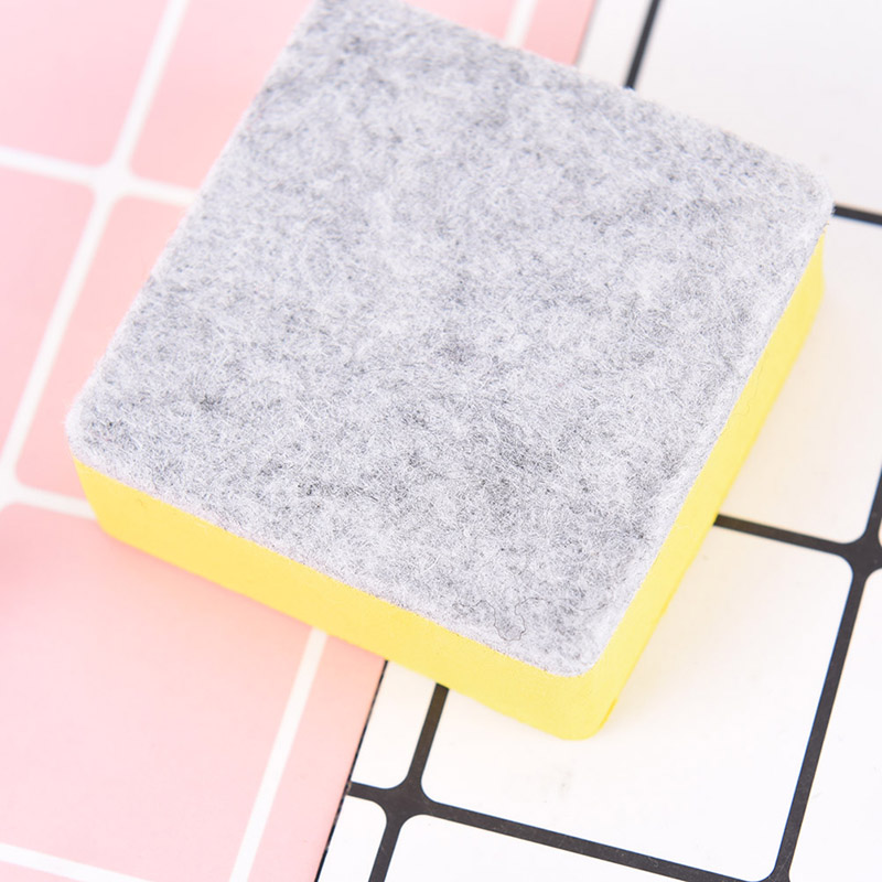 2 Pcs/set White Board Cleaner Wipes Whiteboard Erasers Dry Erase Marker  With School Office Supplies