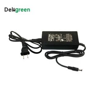 Image 4 - Deligreen 29.4V 2A chargeur de batterie Lithium Ion LiNCM chargeur pour 7 série chargeur électrique pour auto équilibrage scooter Hoverboard