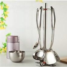 210204/Kitchen utensils set /household full set of cookware/Stainless steel kitchenware piece set /Ergonomic handle