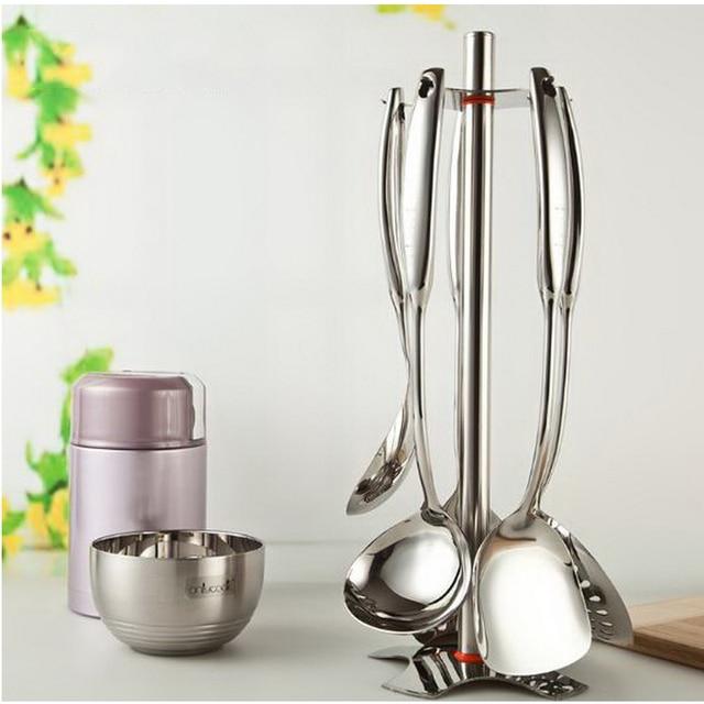 210204 Peralatan Dapur Set Rumah Tangga Lengkap Masak Stainless Steel Bagian