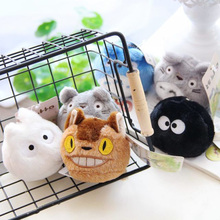 6 pcs/lot 7cm Lovely Totoro Bag accessories backpack Small Pendant Sandbags Doll Kids Toys