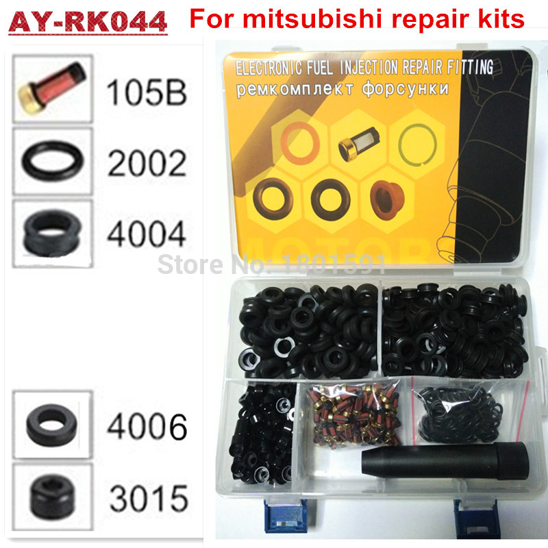100pieces/box good quality fuel injector repair kit for toyota car injector 23250-22040 195500-3110 (AY-RK044)