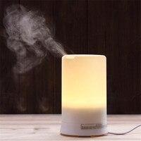 LED USB Óleo Essencial Umidificador de Ar Ultra-sônica Difusor de Aroma terapia Aug12