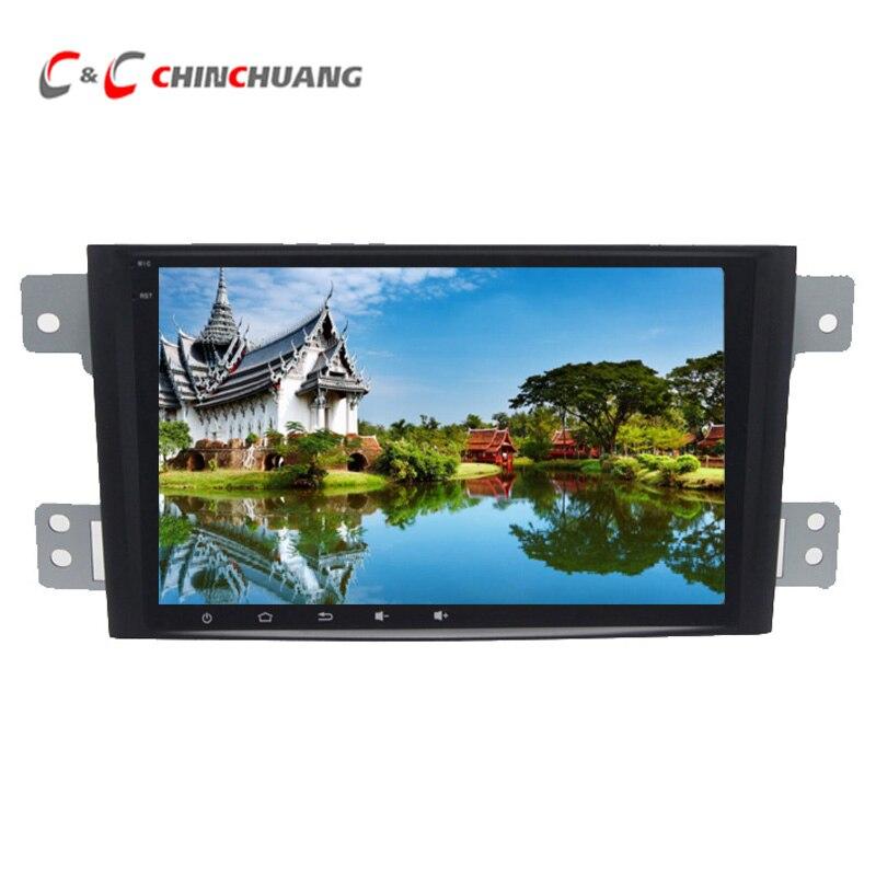 IPS Écran Octa-core T8 Android 8.1 Lecteur DVD de Voiture pour Suzuki Grand Vitara 2005-2011 Avec Radio miroir Lien USB GPS Glonass Navi