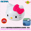 car accessories Cartoon Hello Kitty strawberry sweet white head type ointment / perfume fragrances KT331 free shipping