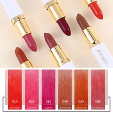 Matte Velvet  Silky Lip Stick Moisturizing Non-stick Cup Waterproof Long Lasting Smooth Glossy