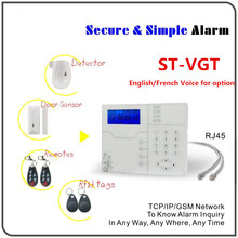 Best Alarm ST-VGT TCP IP Alarm GPRS GSM Alarm System Smart Home Security Alarm With WebIE Remote Control
