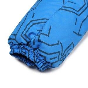 Image 5 - Moomin 2020 new Boys Winter pagliaccetto monopetto ragazzi abiti invernali cappuccio blu geometrico neonato inverno caldo snowsuit