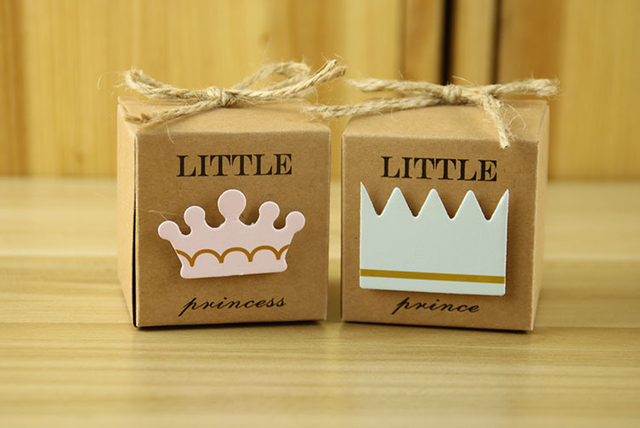 Little Square Candy Boxes 100 pcs/set