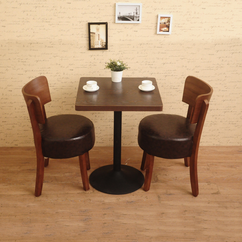 Beau Dining Table Combination Coffee Shop Restaurant Dessert Tea Deck Sofa Solid  Wood Bar Tables And Chairs In Bar Tables From Furniture On Aliexpress.com  ...