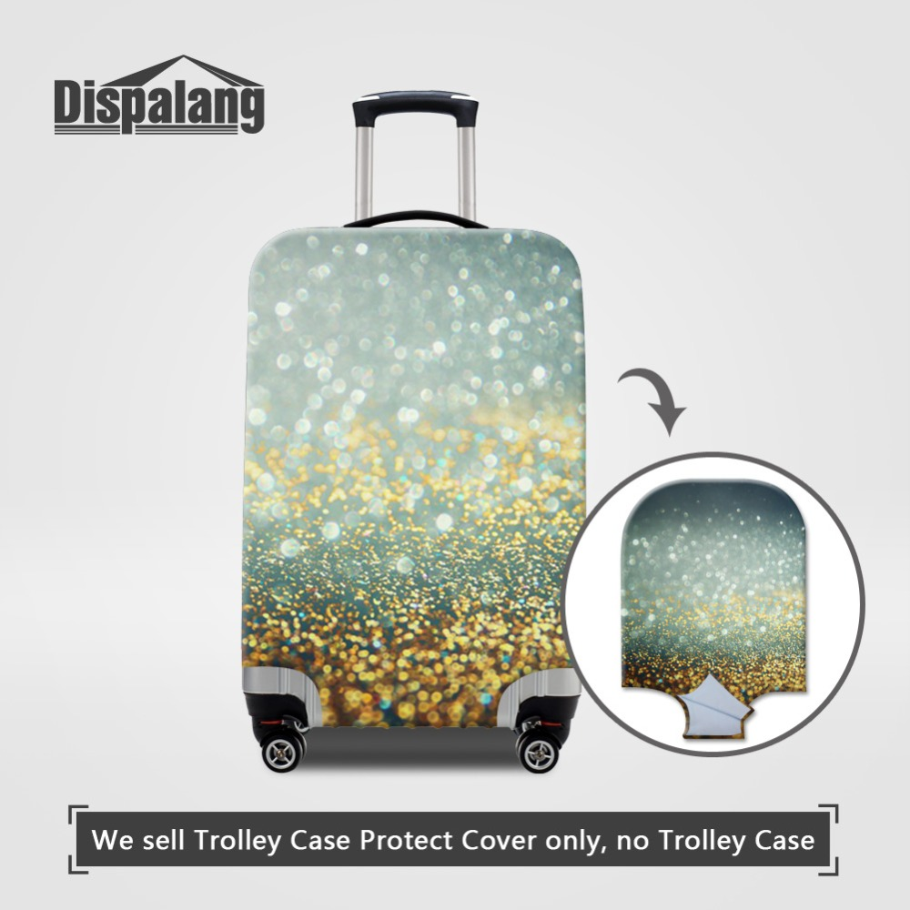 Galaxy Pattern Luggage Protective Cover Universe Space Travel On Road Suitcase Covers For 18-32 Inch Trolley Case Drop Shipping