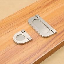 Cabinet pull handle European modern minimalist wardrobe door high drawer hidden zinc alloy handle 15 375mm caulking gun with high strength zinc alloy handle