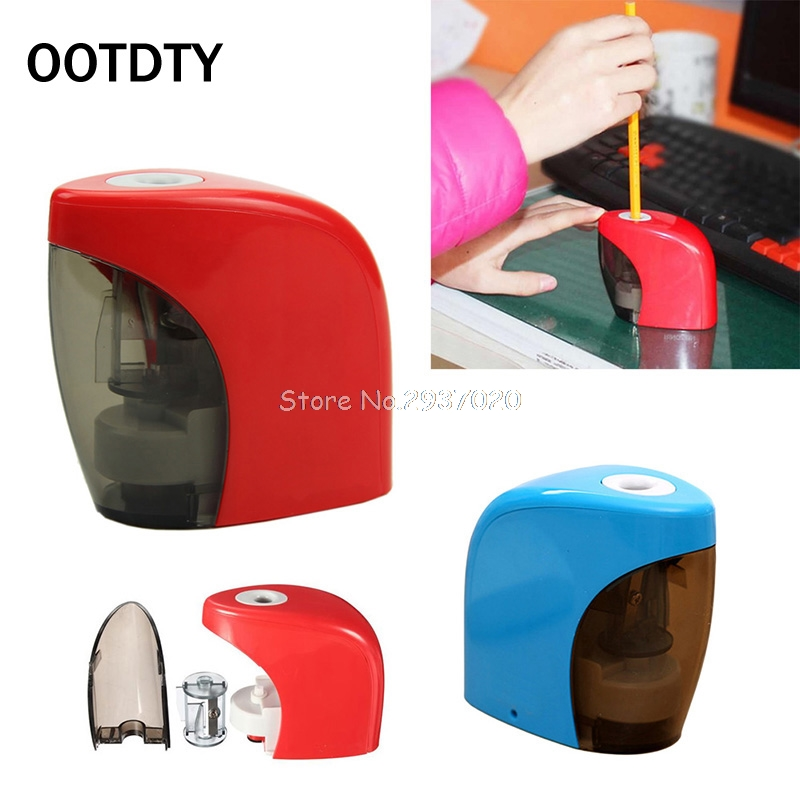Stationery Pencil sharpener school supplies Automatic pencil sharpener office Electric Touch pencil sharpener D14 electric pencil sharpener automatic pencil sharpener single hole for 6 8mm durable for artist supplies school office stationery