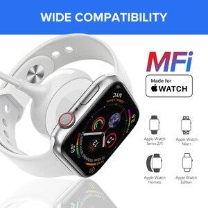 Image 4 - Ugreen สำหรับ Apple Watch Charger MFi ไร้สายชาร์จแม่เหล็กสาย USB 1M อะแดปเตอร์สำหรับ Apple นาฬิกา Series 4 3 2 สาย