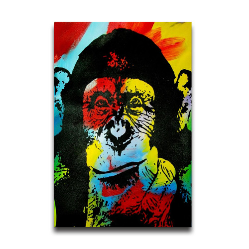 Customized Removable The Chimps Pop Art Wall Sticker, Cheap 20x30 ...