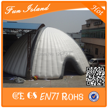 Inflatable tent for wedding on sale,large inflatable square tent,giant inflatable PVC tent(China)