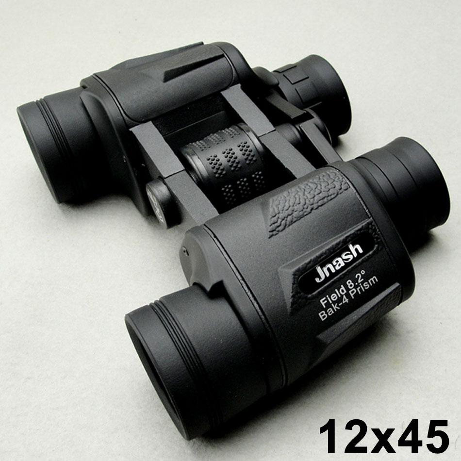 12x45 telescope eyepiece folding binoculars telescope HD wide-angle zoom Portable LLL night vision infrared binoculares hunting new 1 25 f6mm 66 degree wide angle eyepiece for telescope
