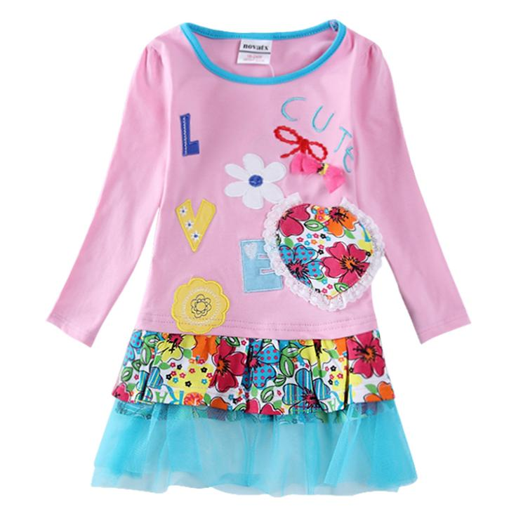 Birthday dresses for baby girls long sleevekids