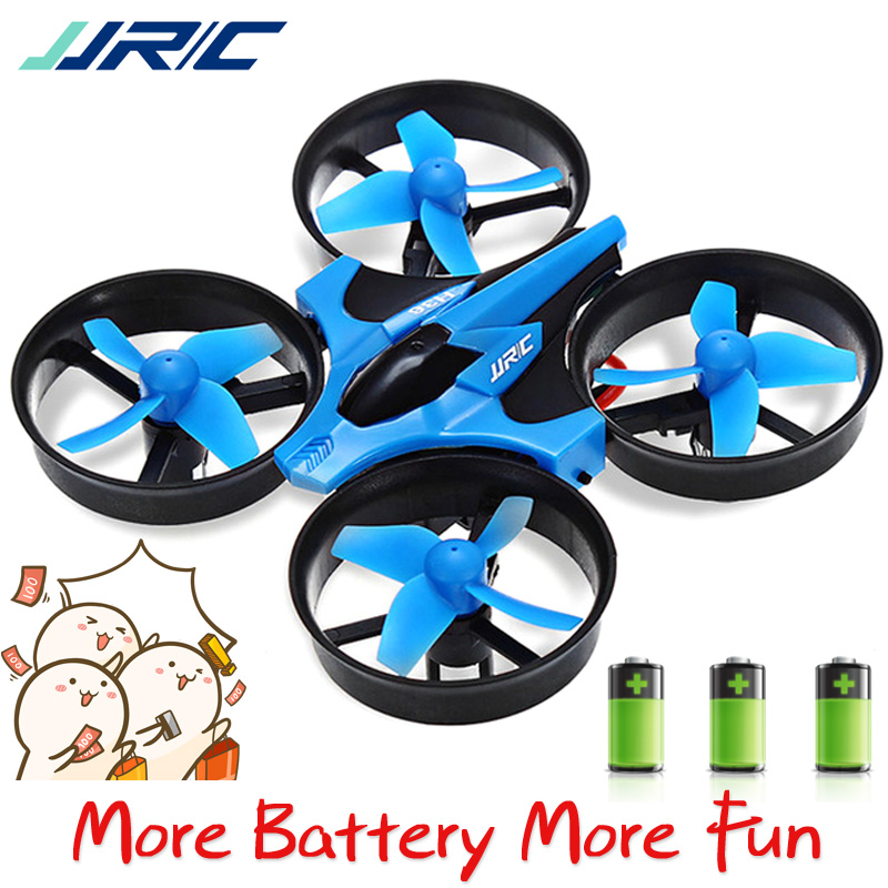 3 Battery JJRC H36 Mini Drone RC Helicopter 3D Flip One Key Return Quadcopter Drones VS H8 Mini Headless Mode fit for Beginner