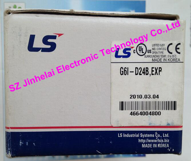 100% New and original G6I-D24B  LS(LG) PLC Input module 100% new and original xgl pmea ls lg plc communication module rnet master
